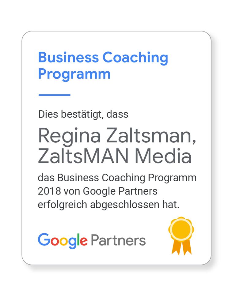 Certificate-google-coaching-Hamburg